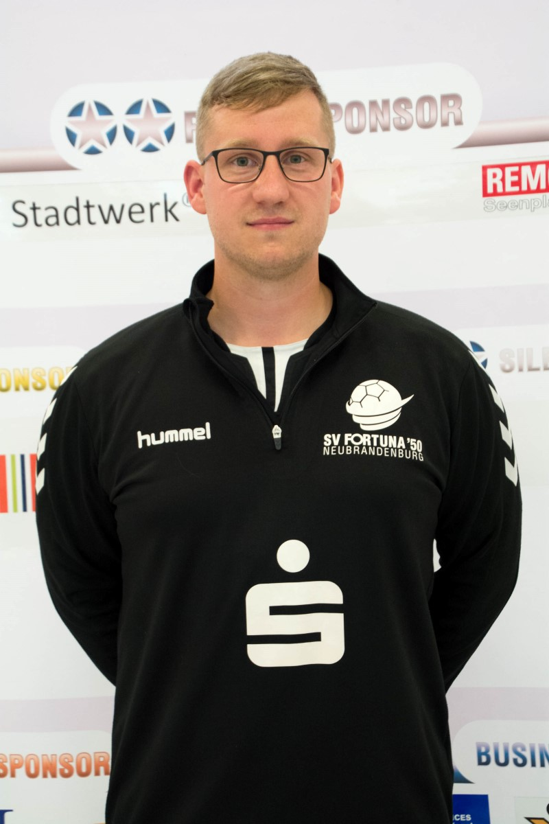 Trainer André Schumacher